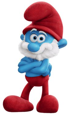 Papa Smurf Smurfs The Lost Village Transparent PNG Image