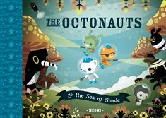 Daniel's FAVORITE show is Octonauts on Disney - based on these books!