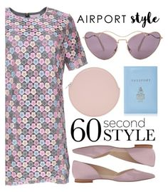 """""""Untitled #571"""" by sebi86 ❤ liked on Polyvore featuring Kara, Marc Fisher LTD, Mark Cross, Miu Miu and airportstyle"""