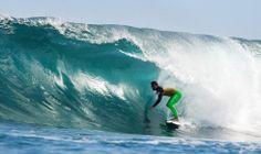 Bourez' sick Hurley wetsuit