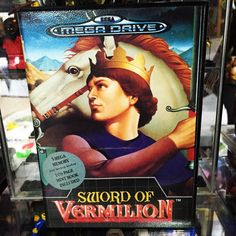 "On instagram by ludlum_vince  #segamegadrive #microhobbit (o)  http://ift.tt/1V5htSM  Finally picked up Pal version of Sega Mega  drive of "" Sword Of Vermillion"" .  One of my Favourite game RPG with Dungeon View .  #SwordofVermilion #ヴァーミリオン #Sega  #メガドライブ   #segacollection #segacollective #Genesis #MegaDrive #16bits  #16bit #retrogames #retroliberty #retrosega #cuzsega #cib #igerssega  #ludlumV"