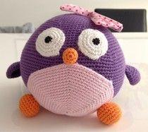 pif paf puf: DIY pingvin/kylling/fugl free pattern