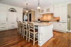Beautiful Kitchen in home in Chatham NJ.