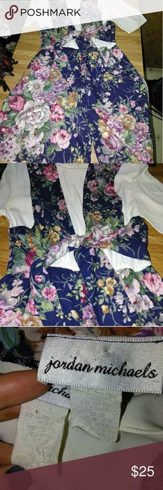🐝Vintage floral Romper Wow! Such a rare beautiful piece from the past! The colors & floral pattern are to die for! It's so stylish & trendy with the tie waist! In pristine condition! I believe the tag says 8, in my opinion it would fit a Medium & Large! So cute for any age! Perfect staple piece for any wardrobe! Perfect for Easter/Spring/Summer! Fast shipping! Style this with a boho hat, platforms, boots, hoses, groovy sunglasses, or fishnets! Tons of ways to style it! Perfect for a…