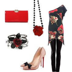 """Night Out"" by mcdowelln on Polyvore"