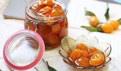 Receita de compota de laranja kinkan. Boas lembranças e resgate dos sabores da infância. Uma delícia que dura por muito tempo na geladeira.