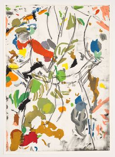 Jim Dine | softground copperplate etching & woodcut!