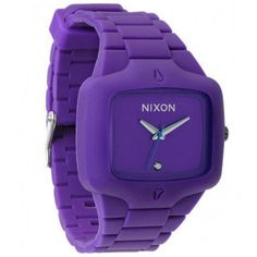 Reloj NIXON THE RUBBER PLAYER PURPLE
