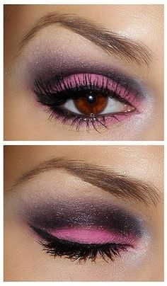 Maquillage yeux roses #makeup #fashion #maquillage #tuto #mode #tendance…
