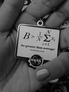 Be greater than average  NASA ☇