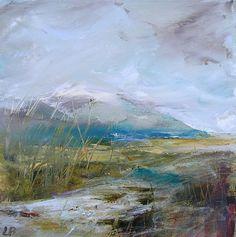 Winter Hills by Lesley Birch | Artfinder