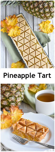 Pineapple Tart My all-time favorite pie. A flaky, buttery, and tender crust with jam-like caramelized pineapple filling. Tart Recipes, Sweet Recipes, Baking Recipes, Dessert Recipes, Sweet Pie, Sweet Tarts, Cupcakes, Pineapple Tart, Delicious Desserts