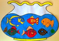 Óvodás Gyerekek: Akvárium halakkal