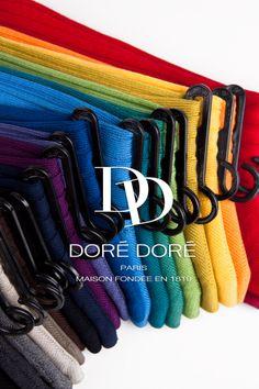 Colorful cotton lisle men's socks - Chaussettes colorées en fil d'écosse pour homme - Doré Doré 1819 - www.dore-dore.fr