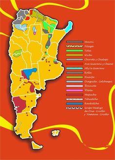Argentina Regions Map Lugares Para Visitar Pinterest - Argentina regions map