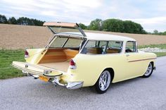 Vintage Cars Danny Jones' 1955 Chevy Nomad is Packed with Cutting-edge Performance and Powered by Chevrolet Performance LSA 1955 Chevy, 1955 Chevrolet, Chevrolet Trucks, Chevrolet Impala, Shooting Break, Chevy Nomad, Car Station, Volkswagen, Toyota