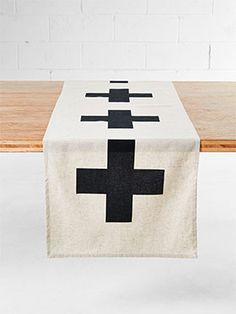 Crosses Table Runner