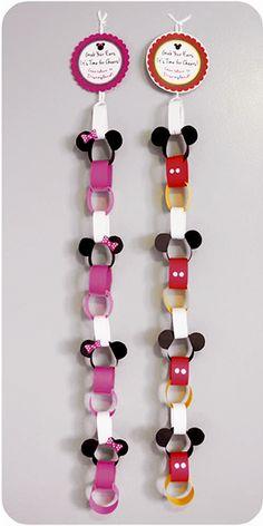 Cadena de Mickey y Minnie Mouse. – Fun & More