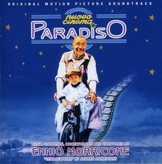 """GDM Music re-issues in the CD CLUB serie san historic title of the Ennio Morricone filmography: """"Nuovo Cinema Paradiso"""" directed in 1988 by Giuseppe Tornatore (Academy Award for Best Foreign Film winn"""