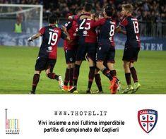 Ultima partita di campionato del Cagliari. Non perdete la nostra offerta: bit.ly/2Go83ji Biglietti introvabili! #thotel #cagliaricalcio Events, Baseball Cards, Sports, Hs Sports, Sport