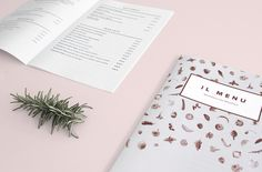 Branding for an Italian restaurant.