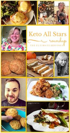 Some of the best Keto and Lowcarb bloggers share their life experiences with keto and their favorite recipes!