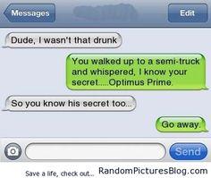Dude, I wasn't that drunk... - http://www.randompicturesblog.com/2013/03/dude-wasnt-drunk/