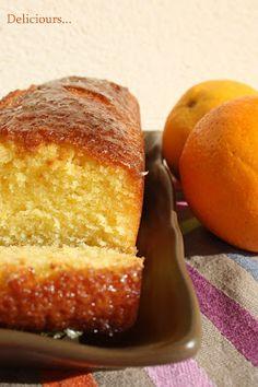 Deliciours...: Quatre-quart glacé à l'orange