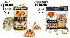 Draft Beer-Flavored Jelly Belly Jelly Beans
