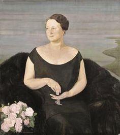 Guido Cadorin - Ritratto della signora Giselda Pannunzio Protti
