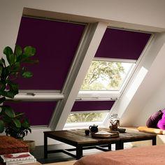 habillage de fenetre de toit et puits de lumiere rideaux et stores. Black Bedroom Furniture Sets. Home Design Ideas