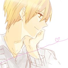 Kise Ryota, I wonder what he is thinking about?