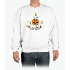 Snoopy - My First Halloween Infant Crewneck Sweatshirt