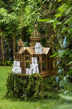 Fairy Tale Wedding Entrance
