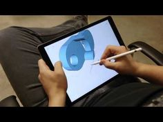 Taking 3D Design To The Next Level with Shapr3D and an Apple Pencil - YouTube An interesting new interface. Note the 2 hand technique. It is becoming common and a lot of software on pads. This will have limitations in that I think it would be good to make square objects like on CAD but I'm not sure it would cover a lot of the objects I need to make. However magic is magic and this is a cool step forward and very clever way of looking at modeling I think will definitely be part of our future.