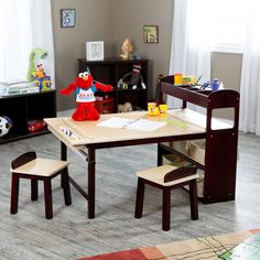 Guidecraft Kids Deluxe Art Center | from hayneedle.com