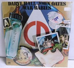 Your place to buy and sell all things handmade Vinyl Record Collection, Hall & Oates, Baby Seal, Vintage Vinyl Records, Album Covers, Albums, War, Babies, Handmade Gifts