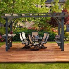 Beautiful Like The Area For Plantings Backyard Patio