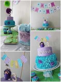 Aiyannah's Monsters Inc Birthday | CatchMyParty.com