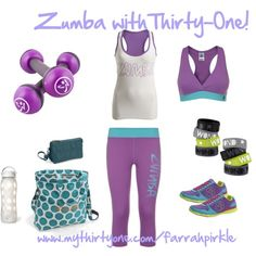 With Thirty-One you will have all you need for your favorite Zumba class!  Our new Retro Metro fold over bag holds a ton and our Vary You Wristlet is perfect for your wallet essentials and your phone!   Www.mythirtyone.com/ginnief