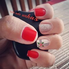 Paws And Claws, Nail Decorations, Manicure And Pedicure, Nail Art Designs, Polish, Nails, How To Make, Beauty, Roses