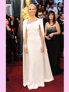 Ivory Column Elastic Satin Oscar Style Dresses