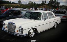 like a prime minister -- Classic Slammed Mercedes Benz