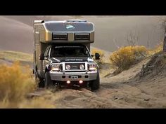 This is my dream RV..EarthRoamer. these are custom built and can go just about ANYWHERE! One of the best things is the company/factory is located right in Colorado!