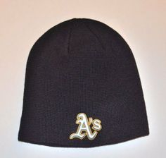 Oakland Athletics A s Black Skull Cap - MLB TE Cuffless Beanie Knit Hat by  MLB.  16.99. Adult one-size fits most. 100% Acrlyic. Officially liscensed  by MLB. b62dfdf6c