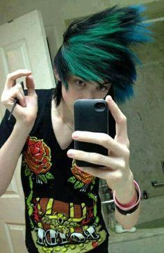 Love his hair