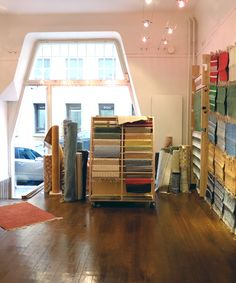 The previous ANKI Shop in the - Nowadays we are located almost next door in Pieni Roobertinkatu, Helsinki