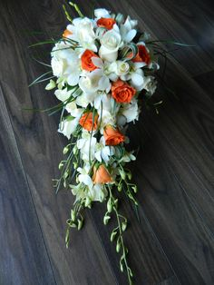 Autumn Teardrop Bridal Bouquet