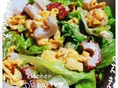 玉子とちくわの和風レタスサラダの画像