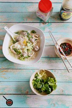THAI RICE SOUP/ JOAK/ KHAO TOM (4 servings)